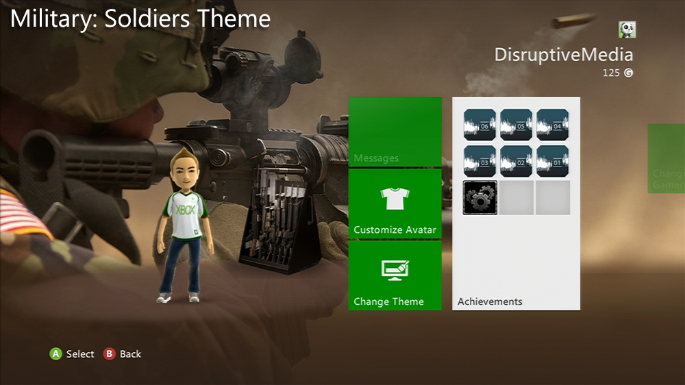 Image from Military: Soldier Premium Theme