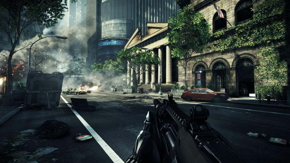 "Image from Crysis 2 ""Be The Weapon"""