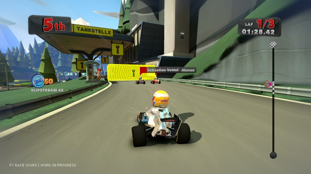 Image from F1 Race Stars Announcement Trailer