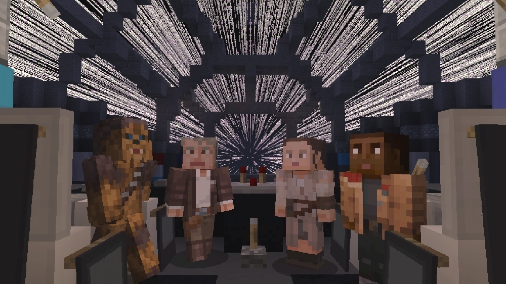 Image from Minecraft Star Wars Sequel Skin Pack
