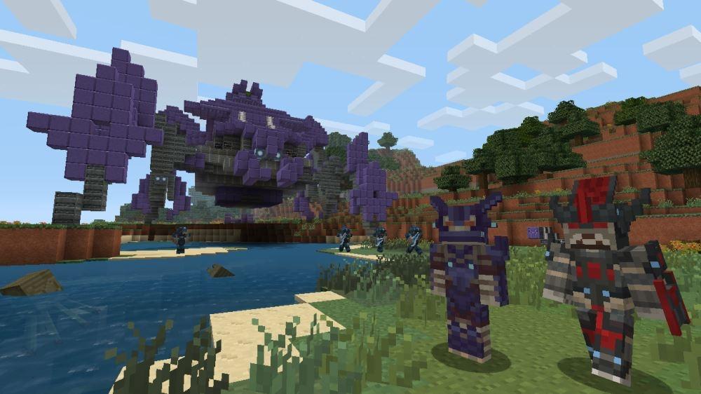 Изображение из Halo Mash-up: новый Minecraft