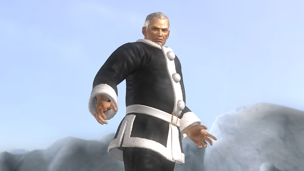 Image from Dead or Alive 5 Ultimate Santa's Helper Leon