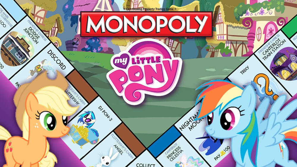 Image from MONOPOLY MY LITTLE PONY DLC