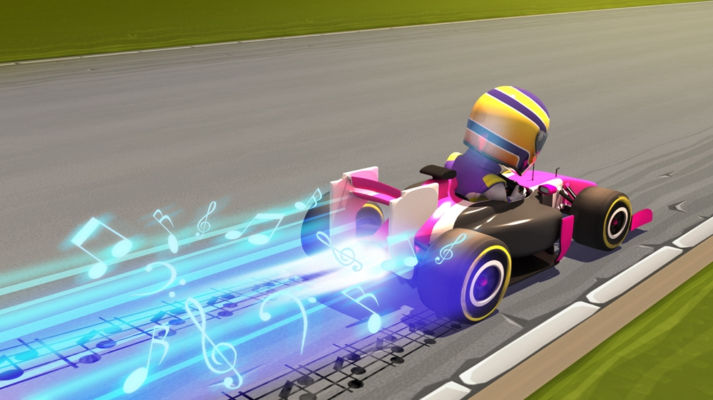Kép, forrása: F1 RACE STARS™ Music Accessory Pack