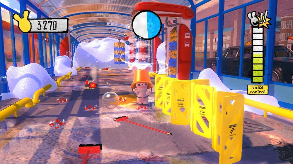 Image from Rabbids Alive &amp; Kicking Launch trailer 