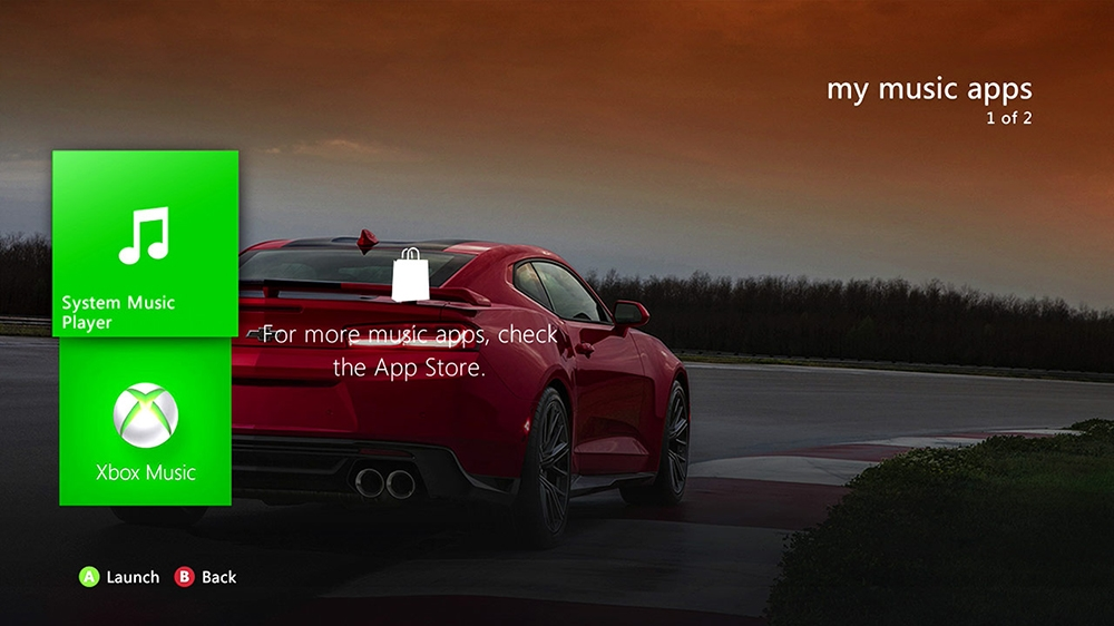 Image from 2017 Camaro ZL1 Dynamic HD Theme