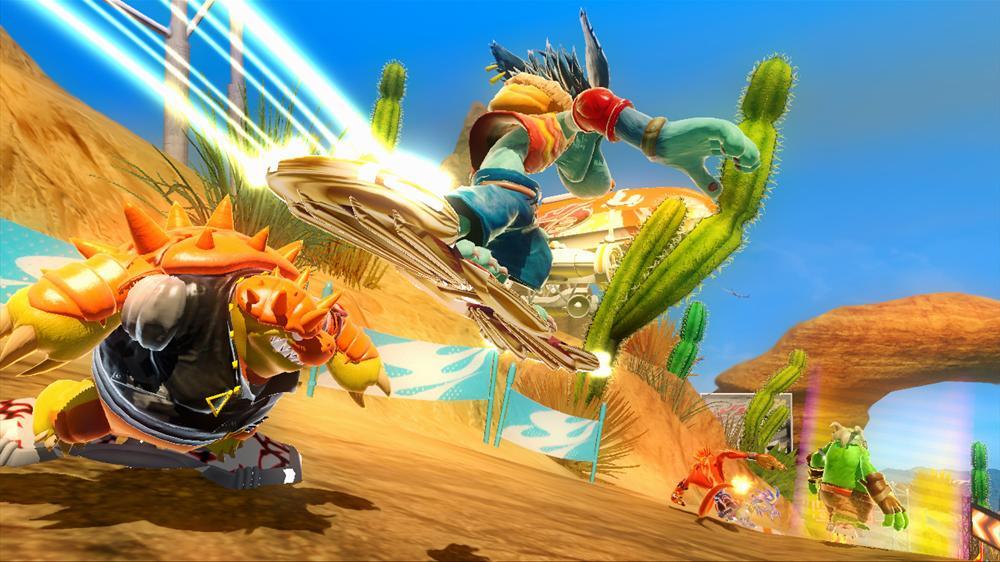 Snímek ze hry Moss's Board