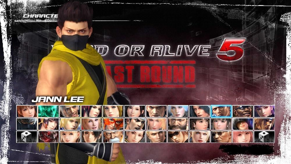 Image from DOA5LR Ninja Clan 2 - Jann Lee