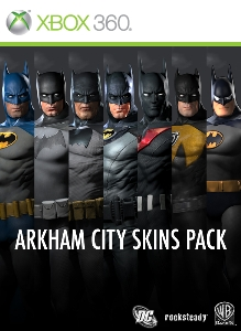 Paquete de trajes de Arkham City