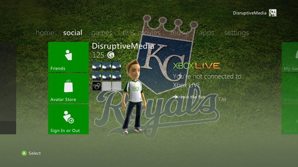 Imagen de MLB - Royals Dugout Theme