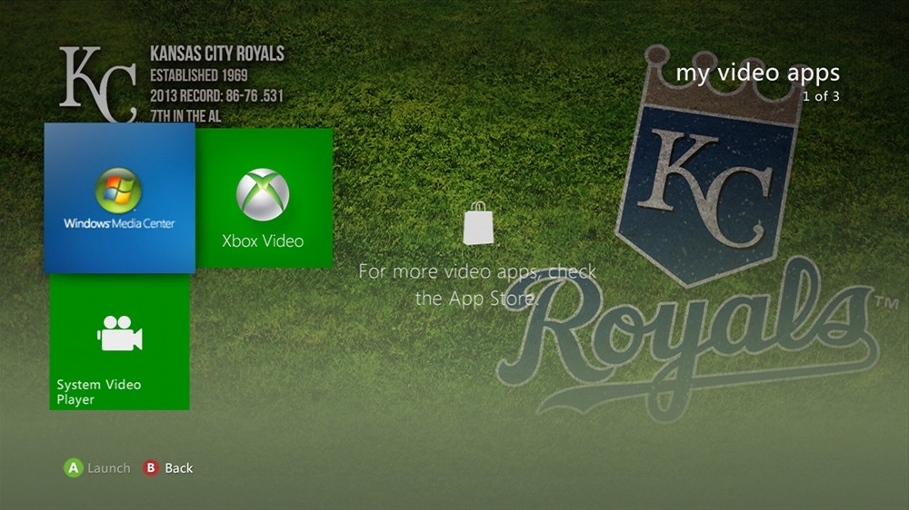 Image de MLB - Royals Dugout Theme