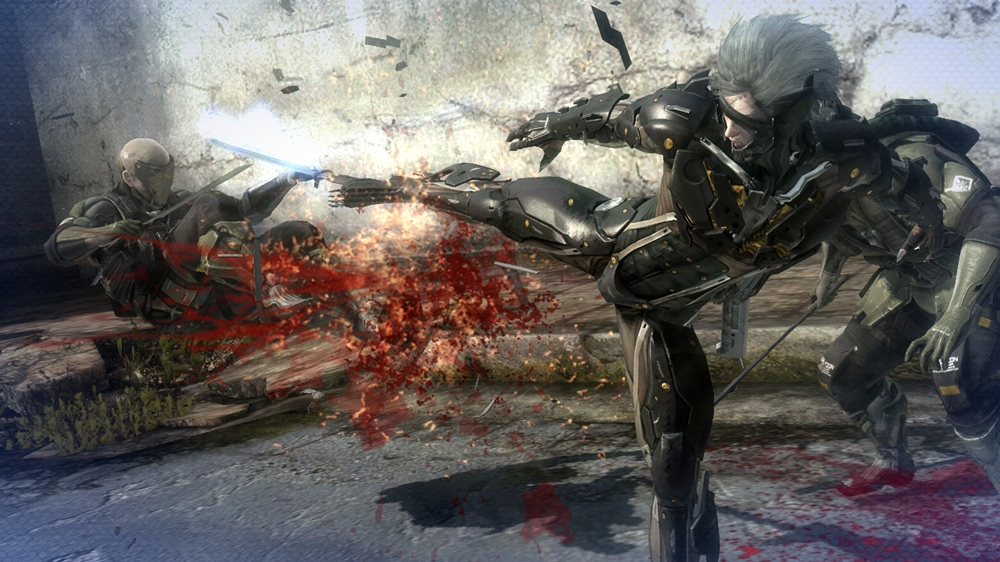 Imagen de METAL GEAR RISING: REVENGEANCE MGS4 Raiden Custom Body