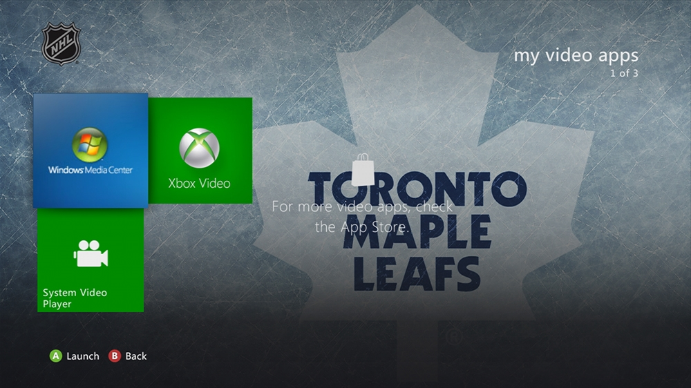 Image from NHL - Maple Leafs Highlight Theme
