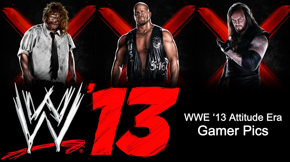 Image from WWE &#39;13 Attitude Era Gamer Picture Pack 