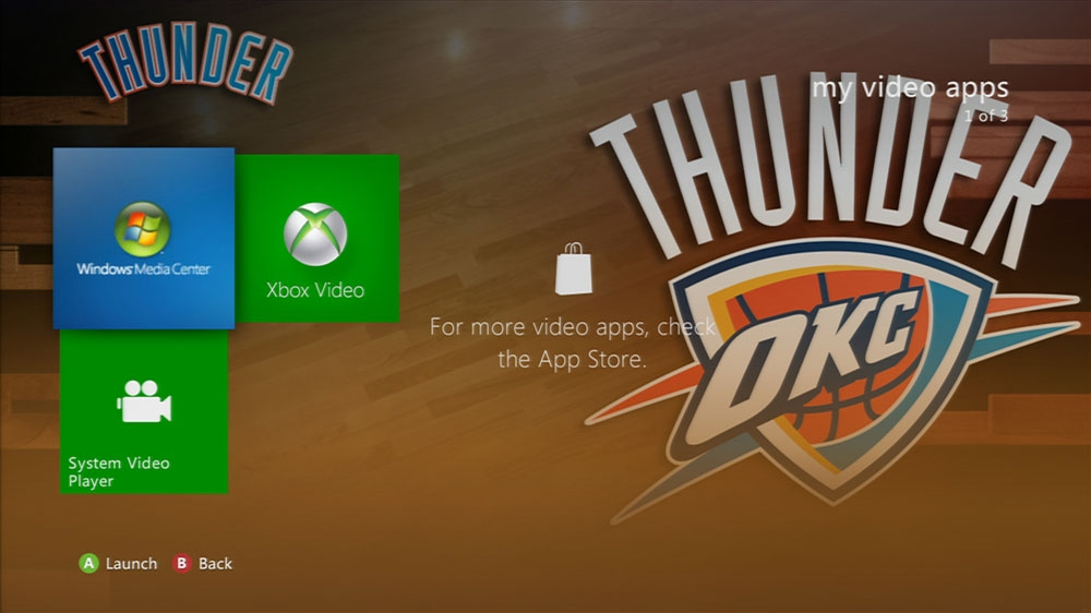 Image from NBA: Thunder Game Time