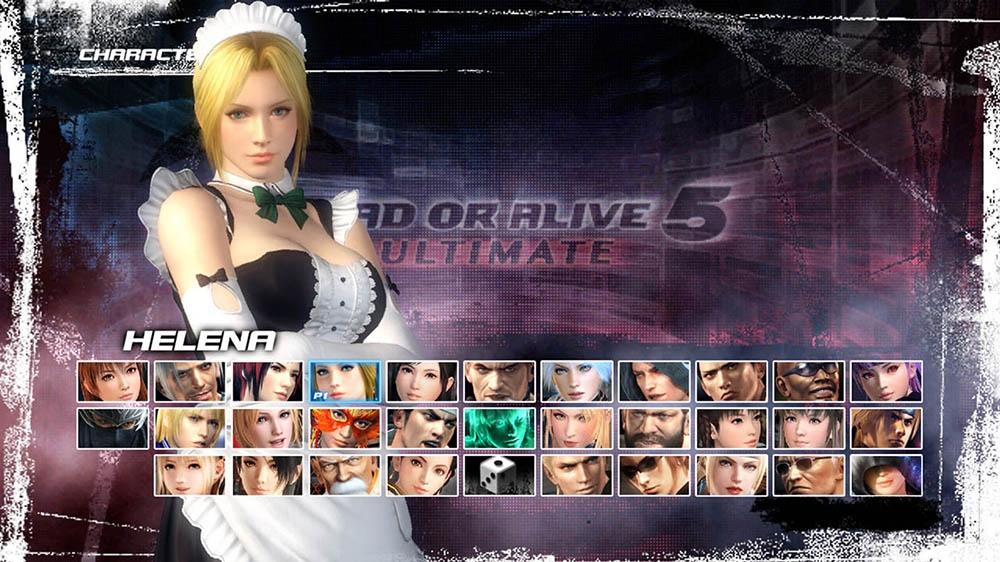 Image de Dead or Alive 5 Ultimate - Tenue soubrette Helena