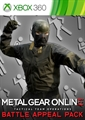 "METAL GEAR ONLINE ""BATTLE APPEAL PACK"""
