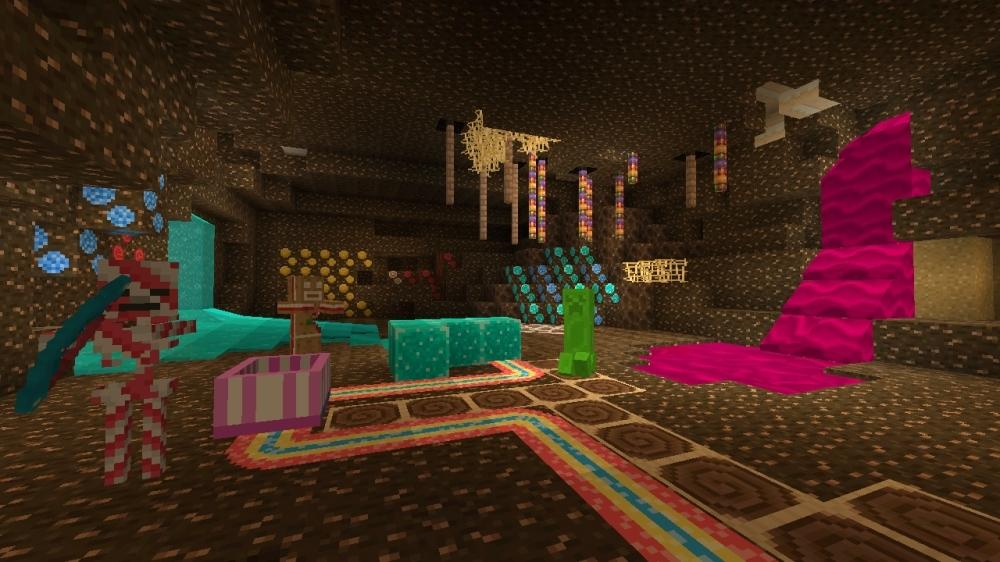 Bild von Minecraft-Texturpaket Süßigkeiten