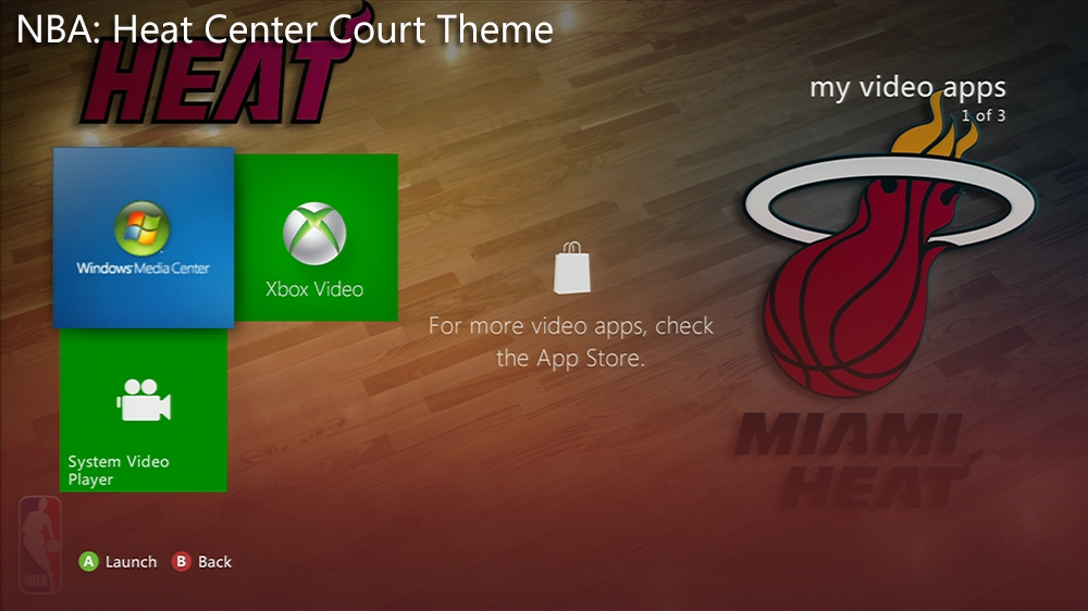 Kuva pelistä NBA: Heat Center Court