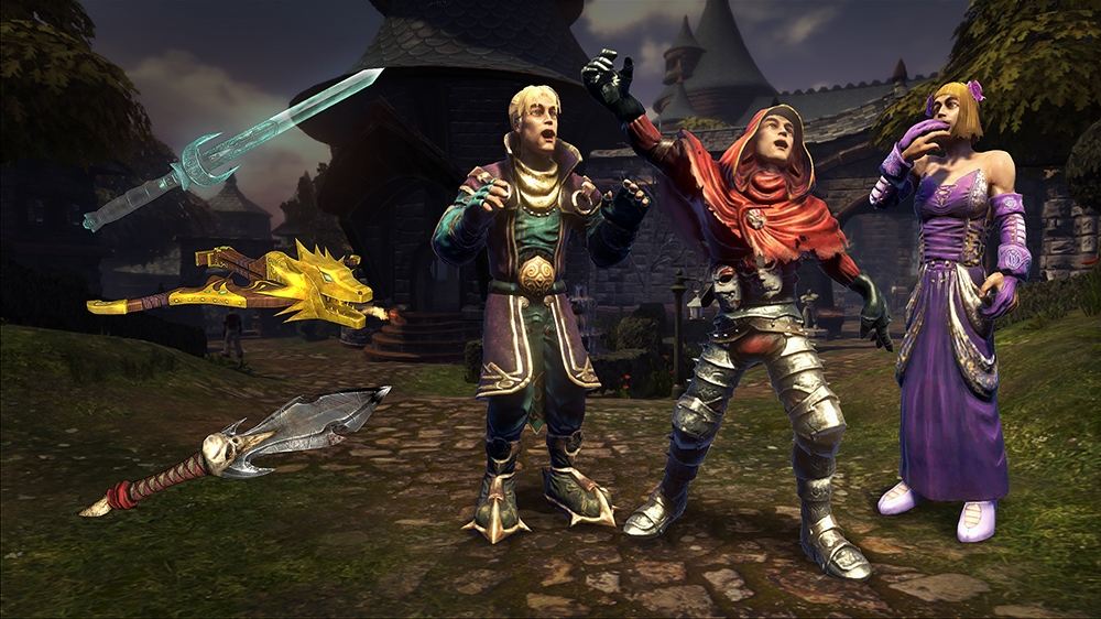 Image from Fable Villain's Weapons and Outfits Pack