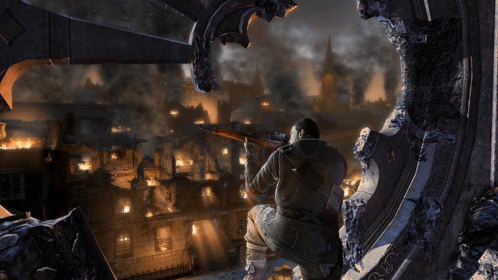 Bild från Sniper Elite V2 - Lönnmörda führern