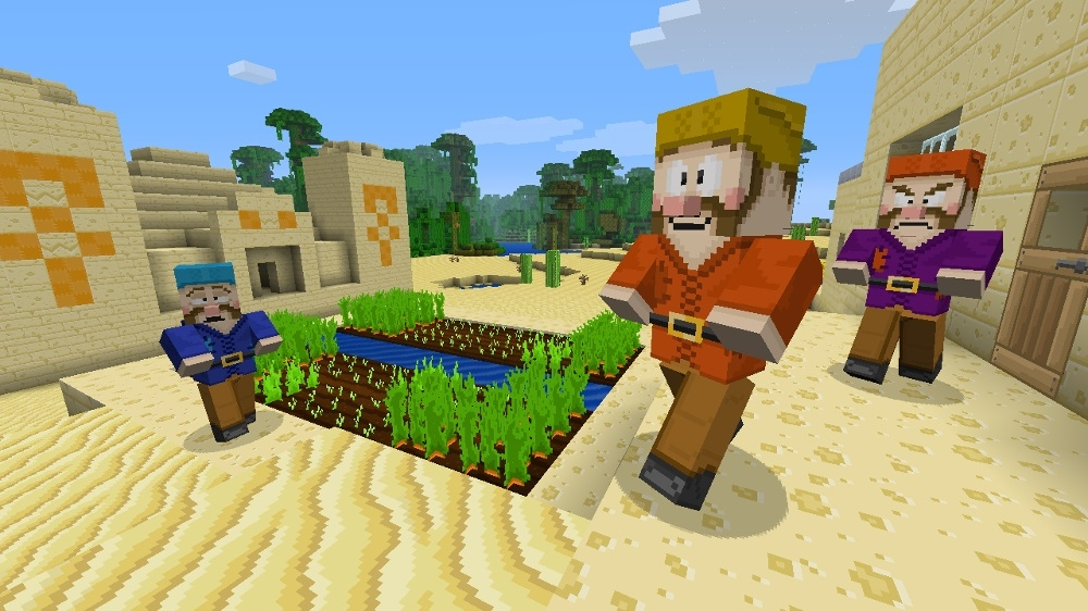 Image from Minecraft Cartoon Texture Pack
