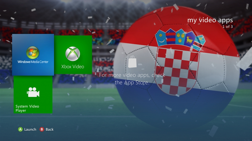 Image from World of Football - Croatia Theme