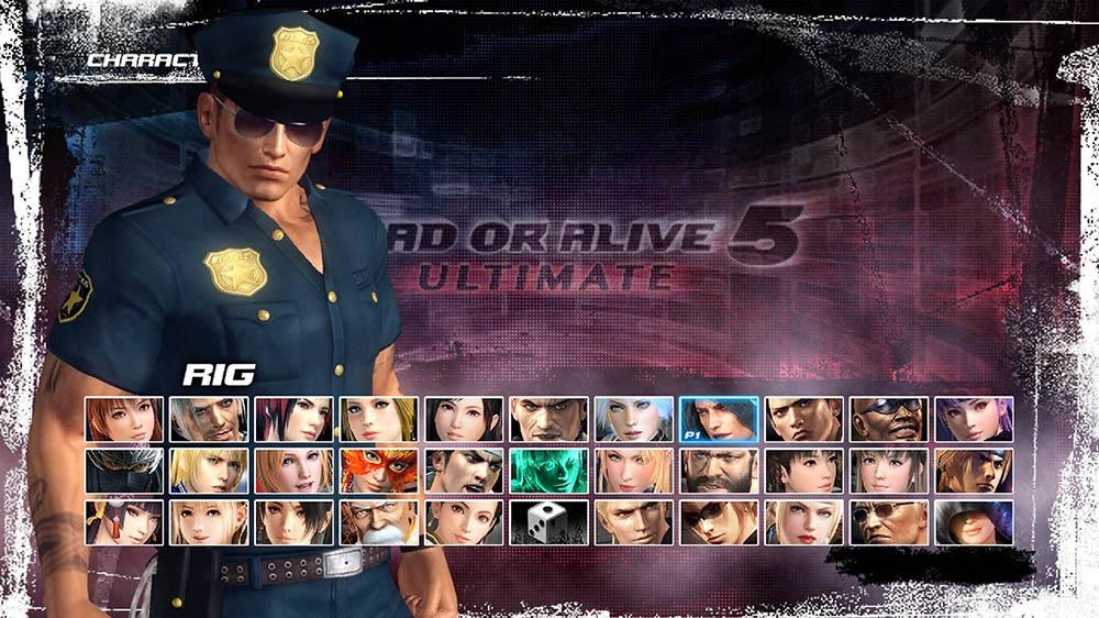 Image de Dead or Alive 5 Ultimate - Police Rig