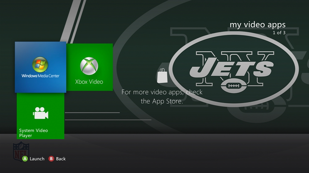 Image from NFL - Jets Rush Theme