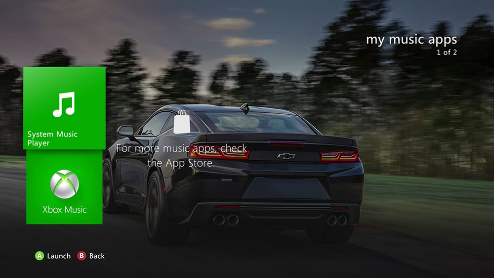 Image from 2017 Camaro SS Dynamic HD Theme