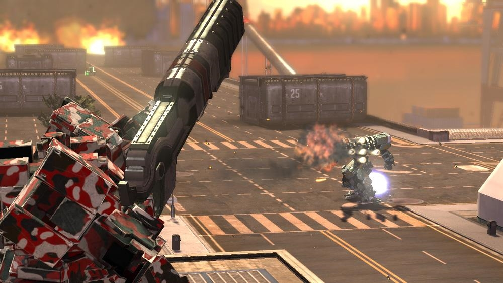 Image from Front Mission Evolved: Wanzer Weapons Pack 2