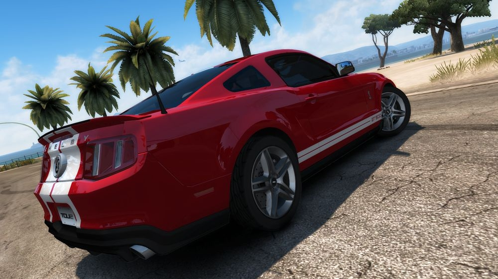 Image from TDU2: Ford Shelby GT500