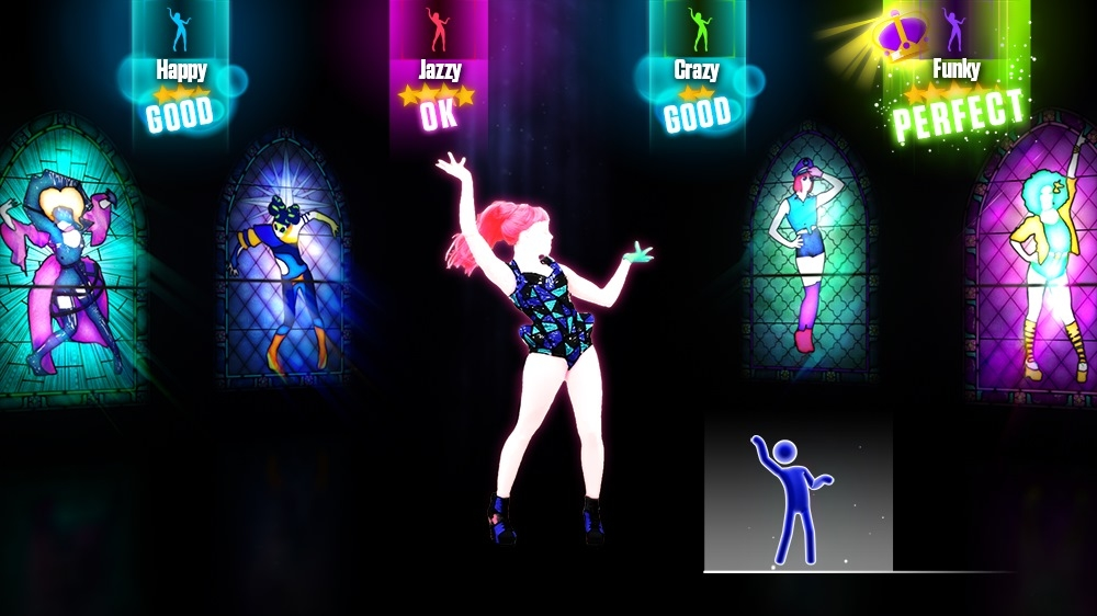 "Image from Just Dance 2015 - ""Just Dance"" by Lady Gaga Ft. Colby O'Donis"