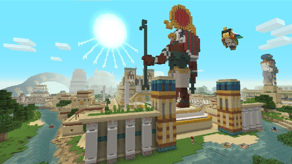 Image de Mash-up Mythologie égyptienne Minecraft