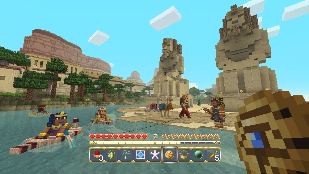 Image from Minecraft Egyptian Mythology Mash-up