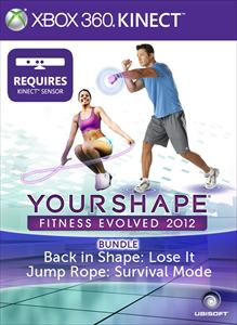 Bundle Pack: Back in Shape Lose It &amp; Jump Rope - Your Shape Fitness Evolved 2012 