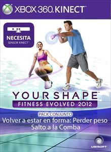 Pack conjunto: Volver a estar en forma: Perder peso y Salto a la Comba - Your Shape™ Fitness Evolved 2012