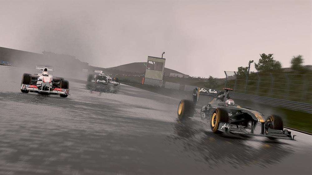 Image from F1 2011™ Developer Diary 2