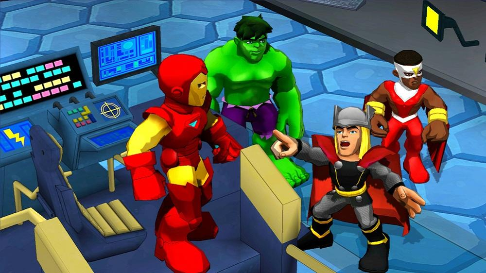 Image from Marvel Super Hero Squad: Comic Combat - trailer