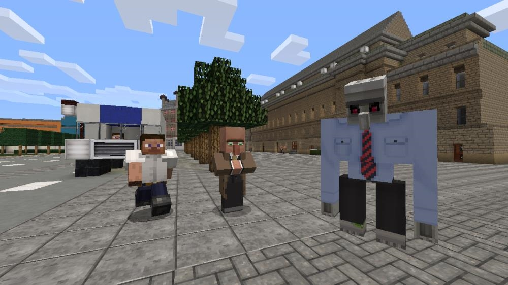 Image from Minecraft City Texture Pack