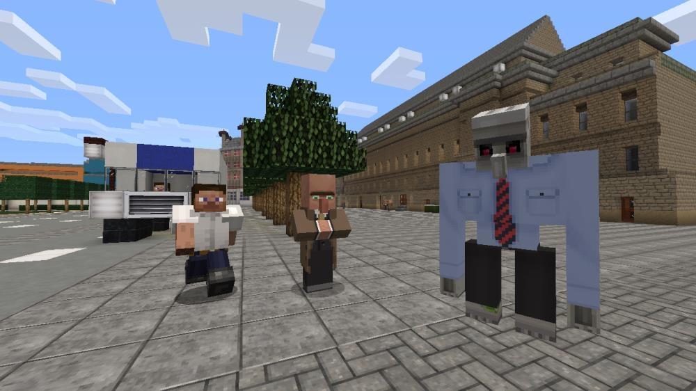 Imagen de Pack de textura Ciudad de Minecraft