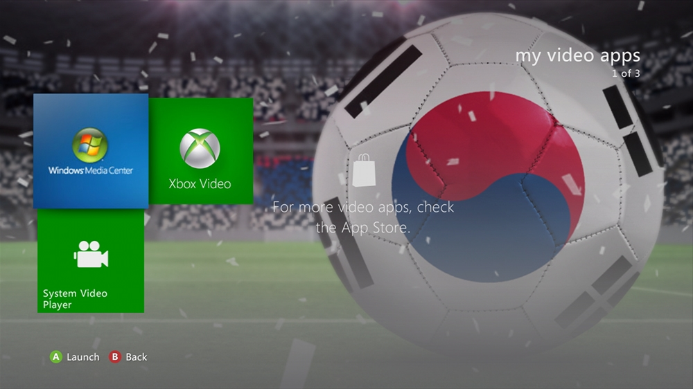 Image from World of Football - Korea Republic Theme
