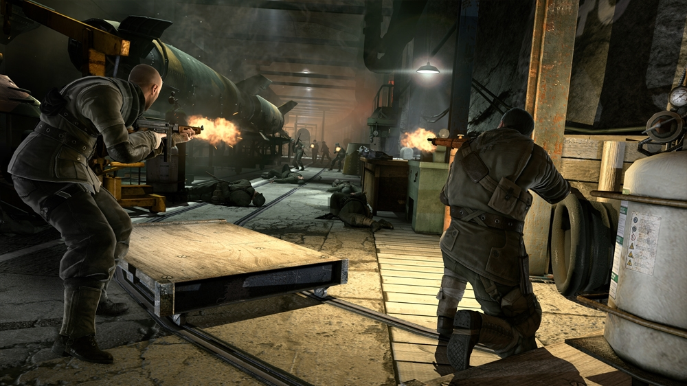 Image from Sniper Elite V2 Saint Pierre additional content
