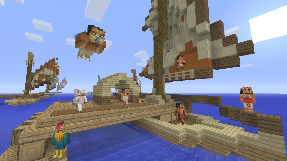 Image from Minecraft Moana Character Pack