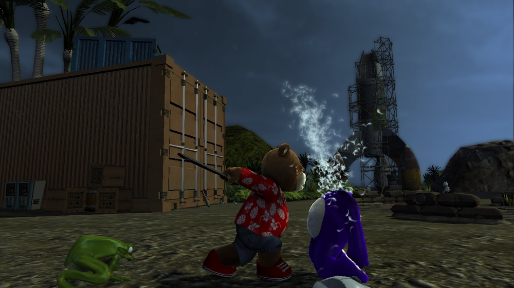 Image from Naughty Bear Panic in Paradise - Squeaky Mallet