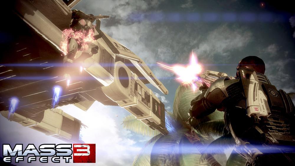 "Imagen de Tráiler de Mass Effect 3 ""La caída de la Tierra"""