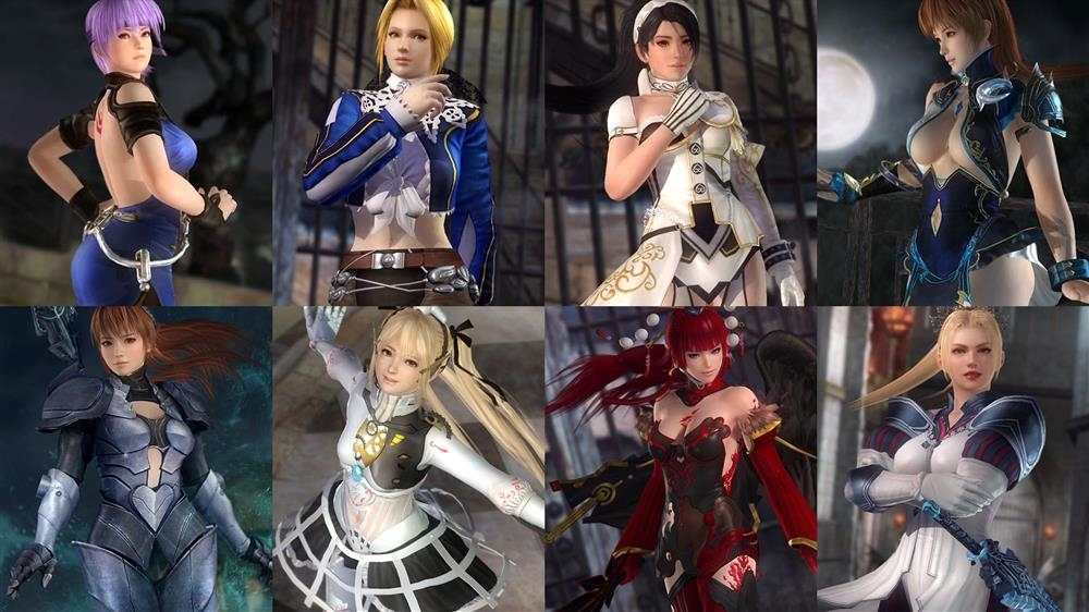 Image from DOA5LR Deception Costume Set