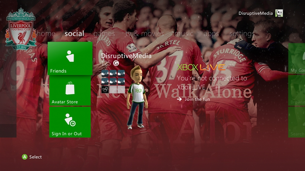 Image from Liverpool FC - Series III Theme