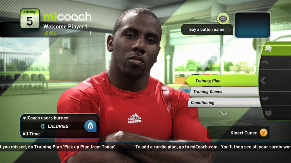 Image from miCoach Launch Trailer