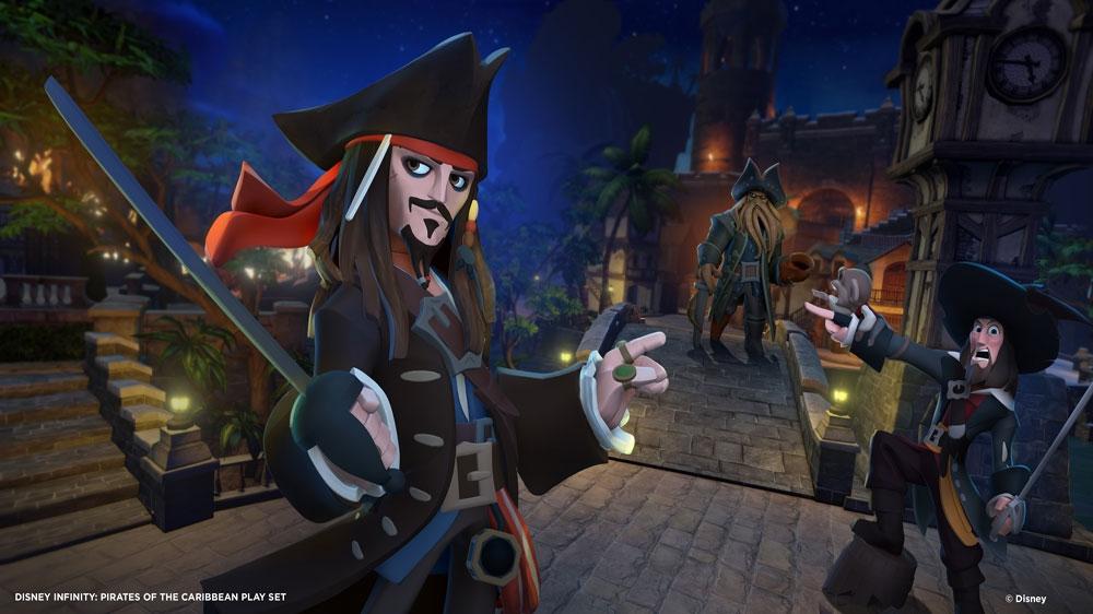 Imagen de El Capitán Jack Sparrow conoce a Toro